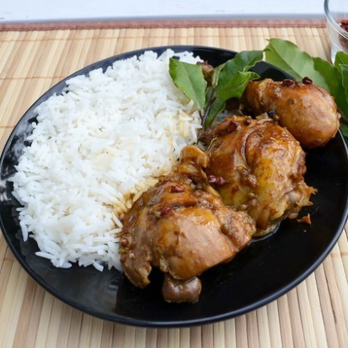 growing up filipino we had adobo chicken every week sometimes four ...