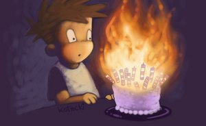 cake_on_fire