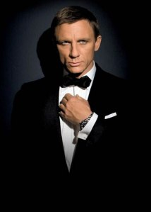 james bond in a bow tie handsome glamour